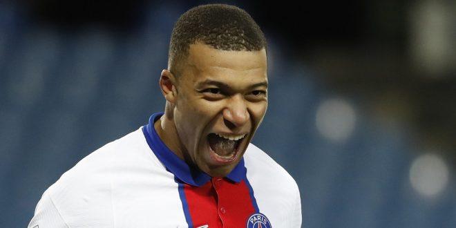 Mbappé scores his 100th goal as a Paris Saint-Germain player